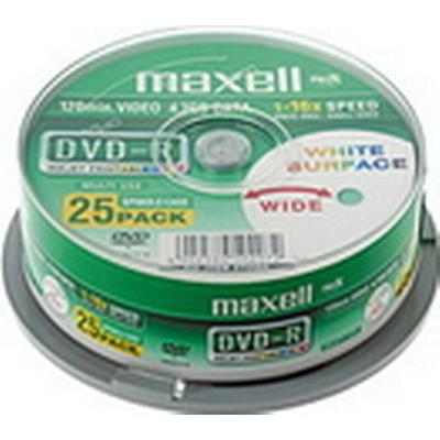 Maxell DVD-R 4.7GB 16x Spindle 25-Pack