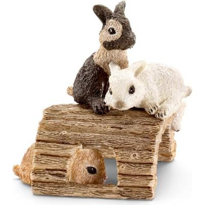 Schleich Baby rabbits playing 13748