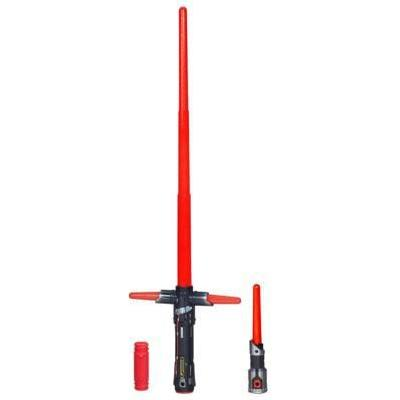 Hasbro Star Wars The Force Awakens Kylo Ren Deluxe Electronic Lightsaber B2948