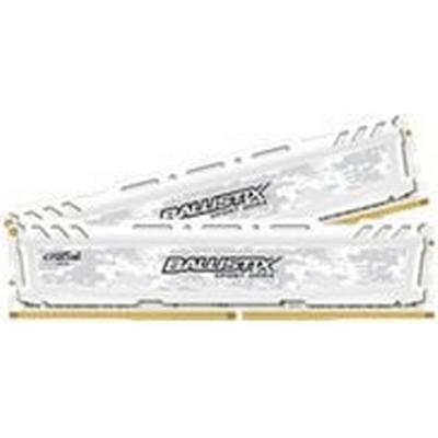 Crucial Ballistix Sport LT White DDR4 2400MHz 2x8GB (BLS2C8G4D240FSCK)