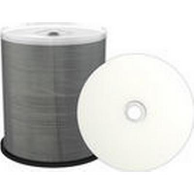 MediaRange CD-R White 700mb 52x Spindle 100-Pack Wide Inkjet