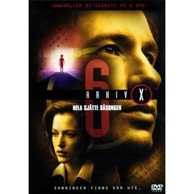 Arkiv X: Säsong 6 (DVD 1998-1999)