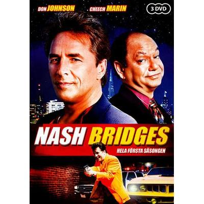 Nash Bridges: Säsong 1 (DVD 2010)