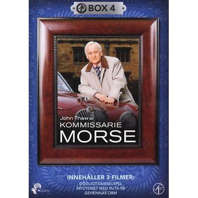 Kommissarie Morse Box 4 (DVD 1988/1989)