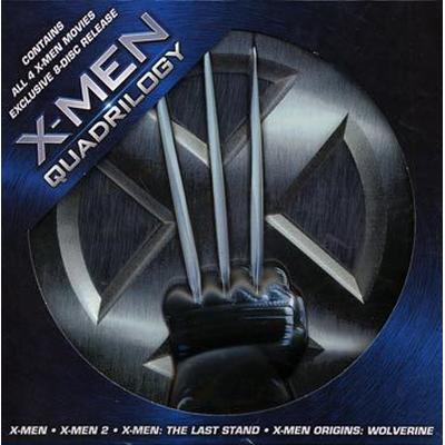X-men quadrilogy Ultimate collection 1-4: Box (DVD 2009)
