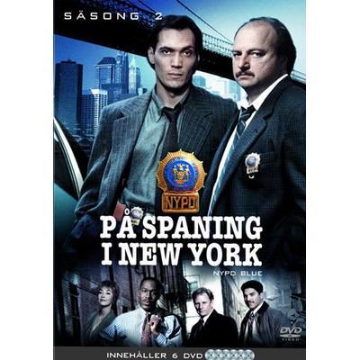 På spaning i N.Y.: Säsong 2 (DVD 1994, 1995)