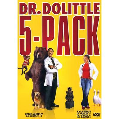 Dr Dolittle 1-5 collection (DVD 1998-2008)