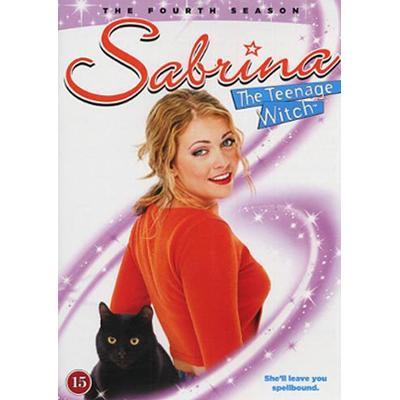 Sabrina Tonårshäxan: Säsong 4 (DVD 1999-2000)