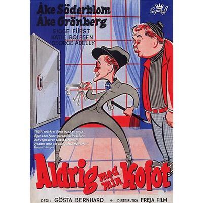 Aldrig med min kofot (DVD 1954)