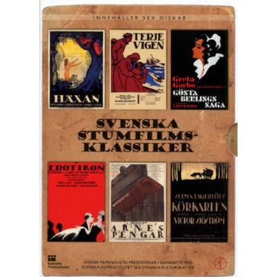 Svenska stumfilmsklassiker (DVD 1917-1924)