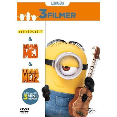 Minioner Box - 3 filmer (DVD 2015)