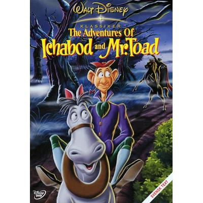 Adventures of Ichabod & Mr Toad (DVD 1949)