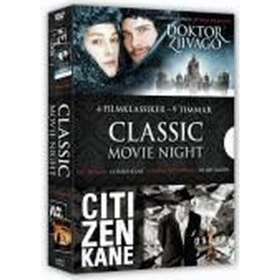 Classic movie night collection (4 filmer) (DVD 2010)