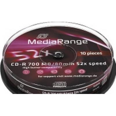 MediaRange CD-R 700MB 52x Spindle 10-Pack