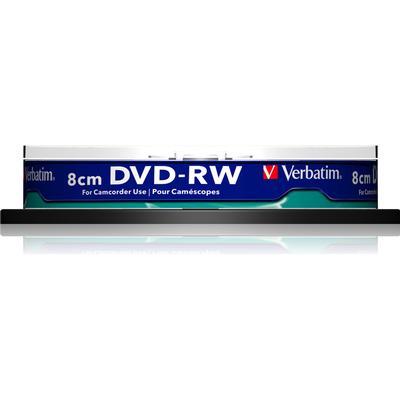Verbatim DVD-RW 1.4GB 2x Spindle 10-Pack 8cm Inkjet