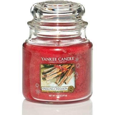 Yankee Candle Sparkling Cinnamon 411g Doftljus