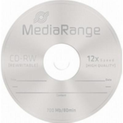 MediaRange CD-RW 700MB 12x Spindle 10-Pack