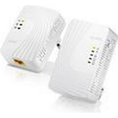 ZyXEL Mini Powerline Wireless Ext. Kit 500Mbps Mini Powerline Wireless N300 Extender Kit - Includes PLA4231+PLA4201