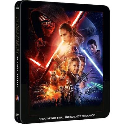 Star Wars 7: The force awakens - Ltd Steelbook (Blu-Ray 2015)