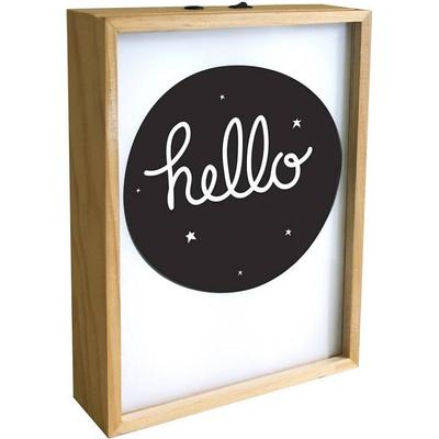 A Little Lovely Company Poster Lightbox Speciallampa