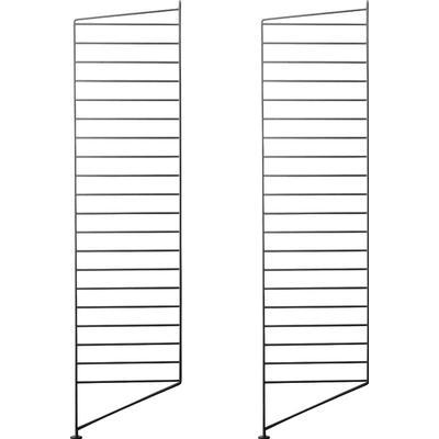 String 2 Golvgavlar 115x30 cm Hyllsystem