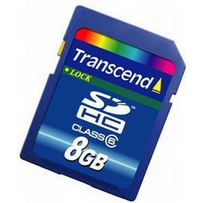 Transcend SDHC Class 6 8GB