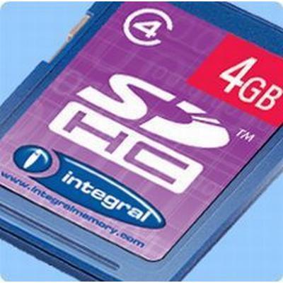 Integral SDHC Class 4 8GB