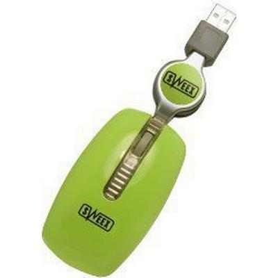 Sweex Notebook Optical Mouse Green (MI035)