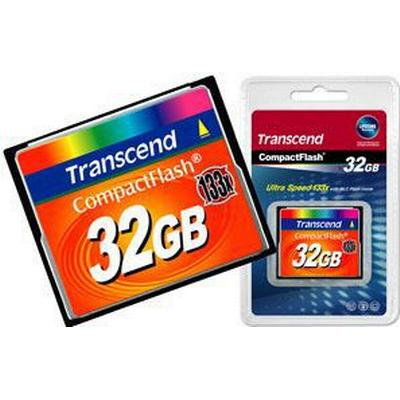 Transcend Compact Flash 32GB (133x)
