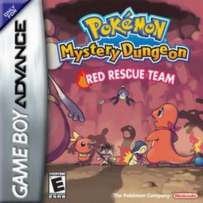 Pokemon Mystery Dungeon - Red Rescue Team