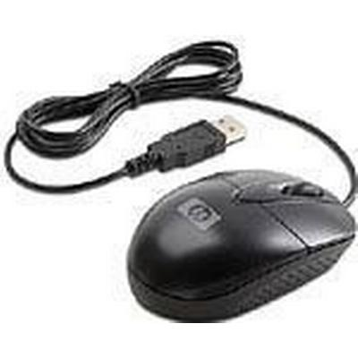 HP USB Optical Travel Mouse Black (RH304AA)