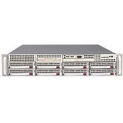 SuperMicro SC825TQ-710LPB Rack Mountable 710W / Black