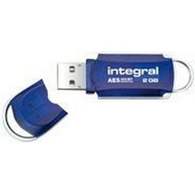 Integral Courier 8GB USB 2.0 AES Security Edition