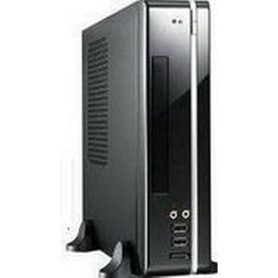 Compucase 8K01 Desktop / 120W / Black / Silver
