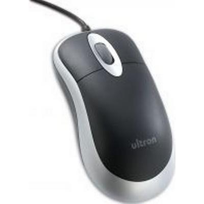 Ultron UM-100 Basic Optical USB Mouse Black