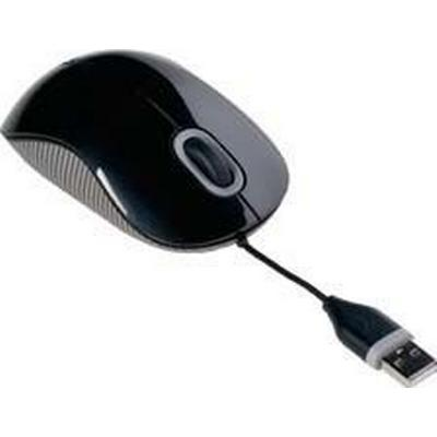 Targus Cord-Storing Optical Mouse (AMU76EU)