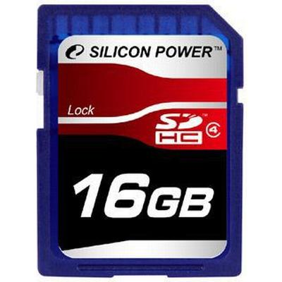 Silicon Power SDHC Class 4 16GB