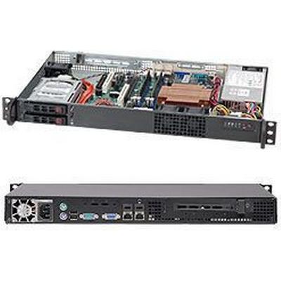 SuperMicro SC510T-200B RackMountable 200W / Black
