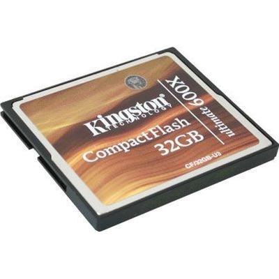 Kingston Compact Flash Ultimate 32GB (600x)