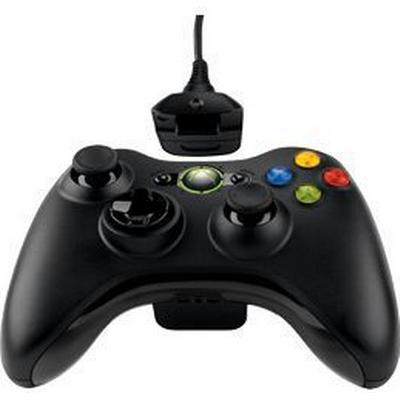 Microsoft Xbox 360 Wireless Controller Play and Charge Kit (Xbox 360)