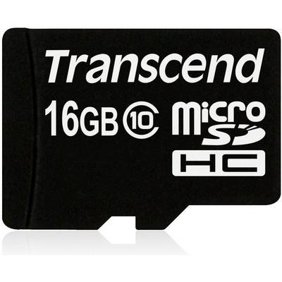 Transcend MicroSDHC Class 10 16GB