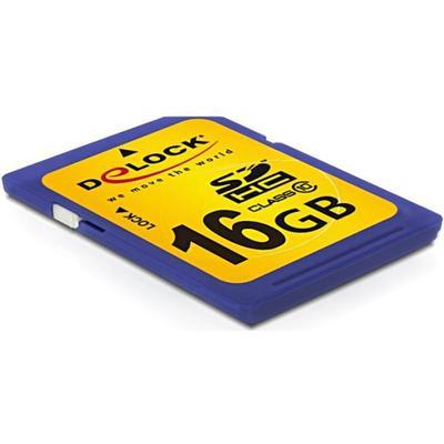 DeLock SDHC Class 10 16GB