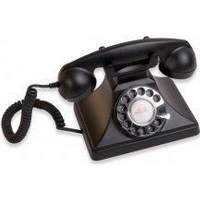 Gpo 200 Classic Rotary Dial Black