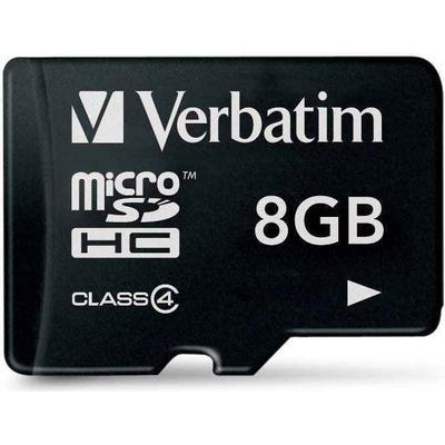 Verbatim MicroSDHC Class4 8GB