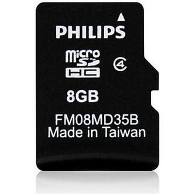 Philips MicroSDHC Class 4 8GB