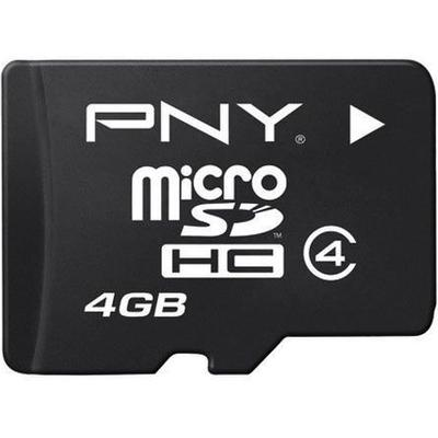 PNY MicroSDHC Class 4 4GB