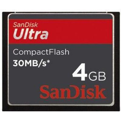 SanDisk Ultra Compact Flash 30MB/s 4GB