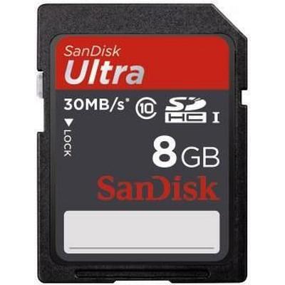 SanDisk Ultra SDHC 30MB/s 8GB