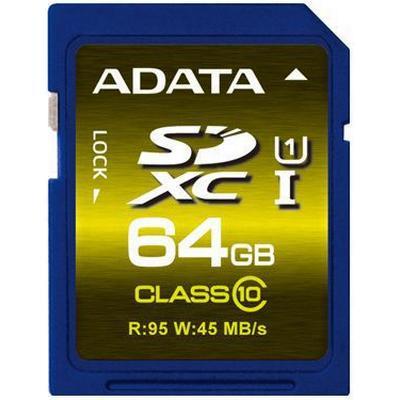 Adata Premier Pro SDXC UHS-I U1 64GB