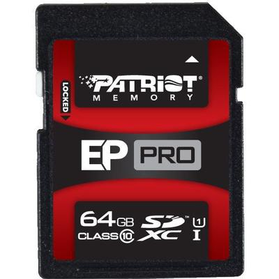 Patriot SDXC Class 10 64GB EP Pro Series